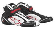 Alpinestars Tech 1-KX 2013 - Black White Red