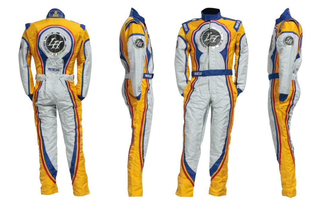 combinaison tuta lh kart suit race kart renneskart