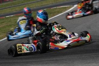 sarno wsk euro series lh kart Pedro Hiltbrand Aguilar