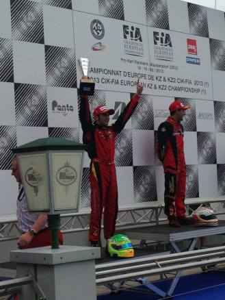 CIK FIA EUROPEAN CHAMPIONSHIP WACKERSDORF maranello zanchetta