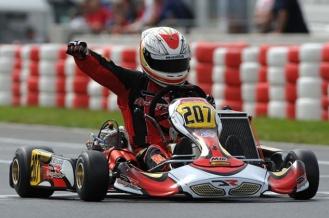 CIK-FIA-KZ2-Wackersdorf-European-Championhip-Kart DR-Racing-Riccardo-Negro