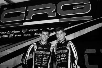 Jorrit Pex e Max Verstappen CAMPIONATO EUROPEO KZ KZ2 WACKERSDORF