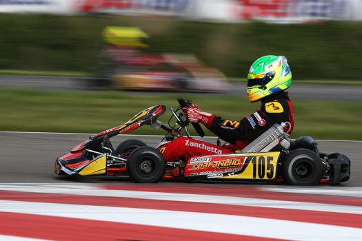 WSK euro series genk Maranello KZ2 Zanchetta