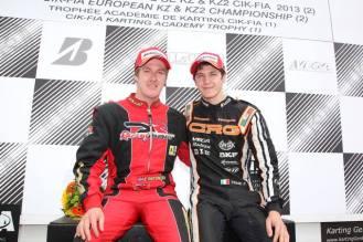 Championship european 2013 Genk crg dr kart felice tiene emil antonsen