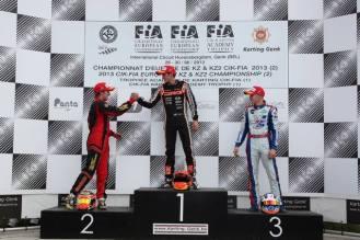 Championship european 2013 Genk crg felice tiene dr kart emil antonsen