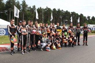 Championship european 2013 Genk crg racing team 1