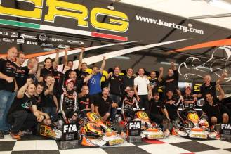Championship european 2013 Genk crg racing team