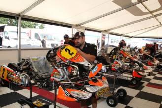 cik championnat d'europe kf ortona 2013 crg racing team 4