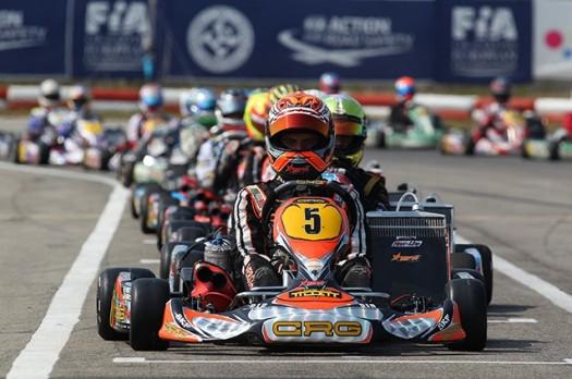 cik championnat d'europe kf ortona 2013 crg verstappen 1