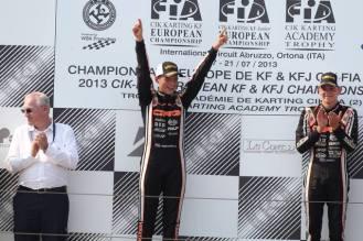 cik championnat d'europe kf ortona 2013 crg verstappen 5