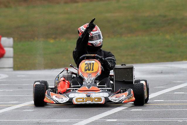 Jorrit Pex the DKM Deutsche Kart Meisterschaft crg kz2