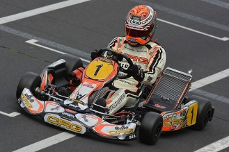 WORLD KF CHAMPIONSHIP pf international crg max verstappen