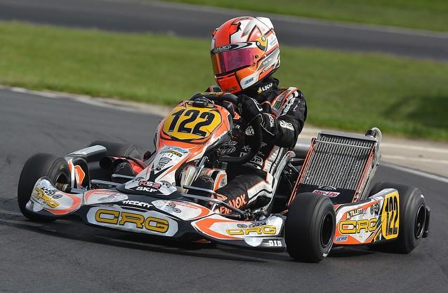 England CRG archie tillet World Championship KF  Brandon's karting