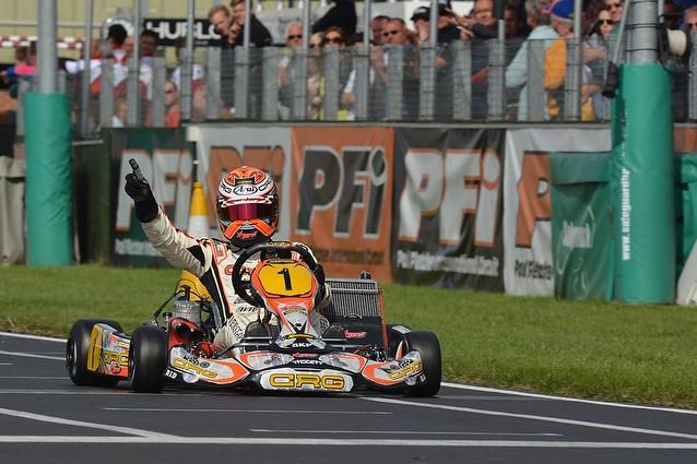 England CRG Max Verstappen World Championship KF  Brandon's karting