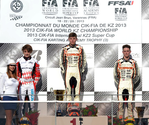 KZ-CIK-FIA-World-Karting-Championship-KZ-Varennes-2013 verstappen lennox crg