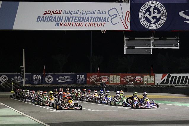 bahrain CRG world championship Verstappen_Joyner