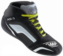 omp chaussures compétition KS3 vert fluo renneskart