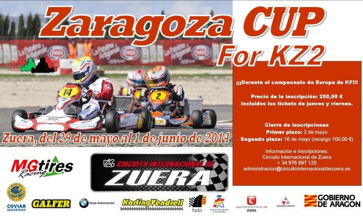 CARTEL Zaragoza CUP
