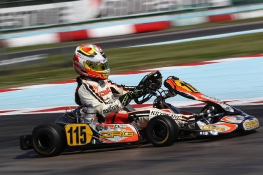 crg european CIK-FIA KF & KF Junior Championship
