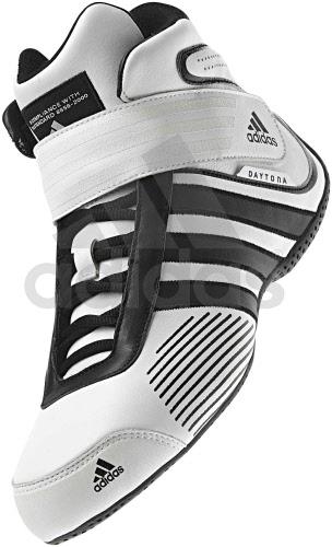 Adidas Daytona White Black - FIA Approved