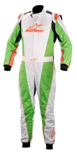 Alpinestars K-MX 5 2014 NRG - White Green Orange