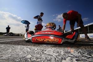 Lorenzo Camplese maranello kart kz2 sarno